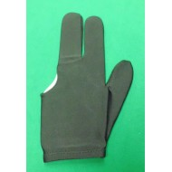 3 Finger Glove Black
