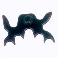 Deluxe Black Bat Head
