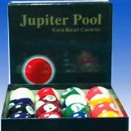 """2.1/16"""" Jupiter Pool Ball Set"""