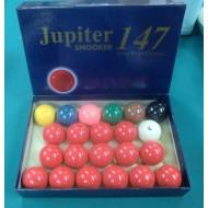 """2.1/16"""" Jupiter Snooker Ball Set"""