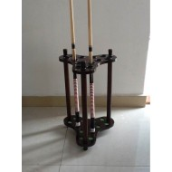 12 Holes standing Wooden Cue rack